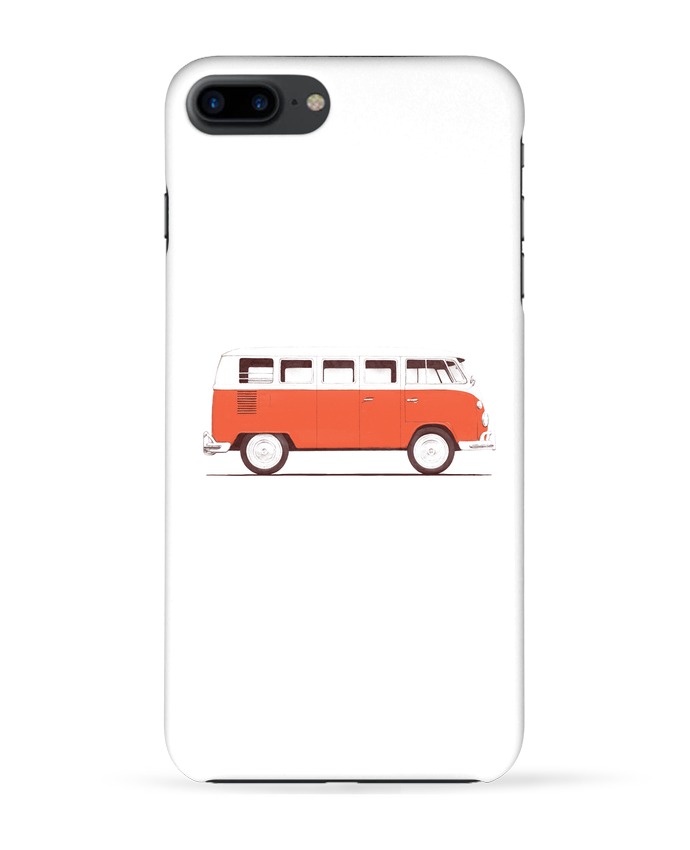 Carcasa Iphone 7+ Red Van por Florent Bodart