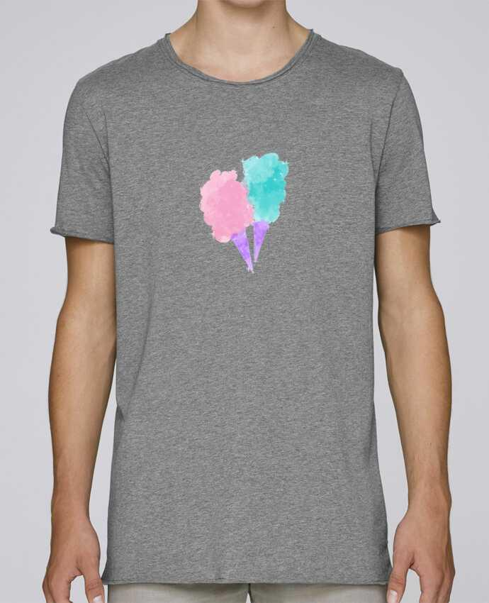 Camiseta Hombre Tallas Grandes Stanly Skates Watercolor Cotton Candy por PinkGlitter