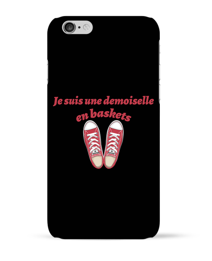 Carcasa  Iphone 6 Je suis une demoiselle en baskets por tunetoo