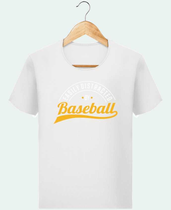 Camiseta Hombre Stanley Imagine Vintage Distracted by Baseball por Original t-shirt
