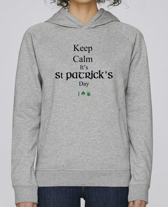 Sudadera Hombre Capucha Stanley Base Keep calm it