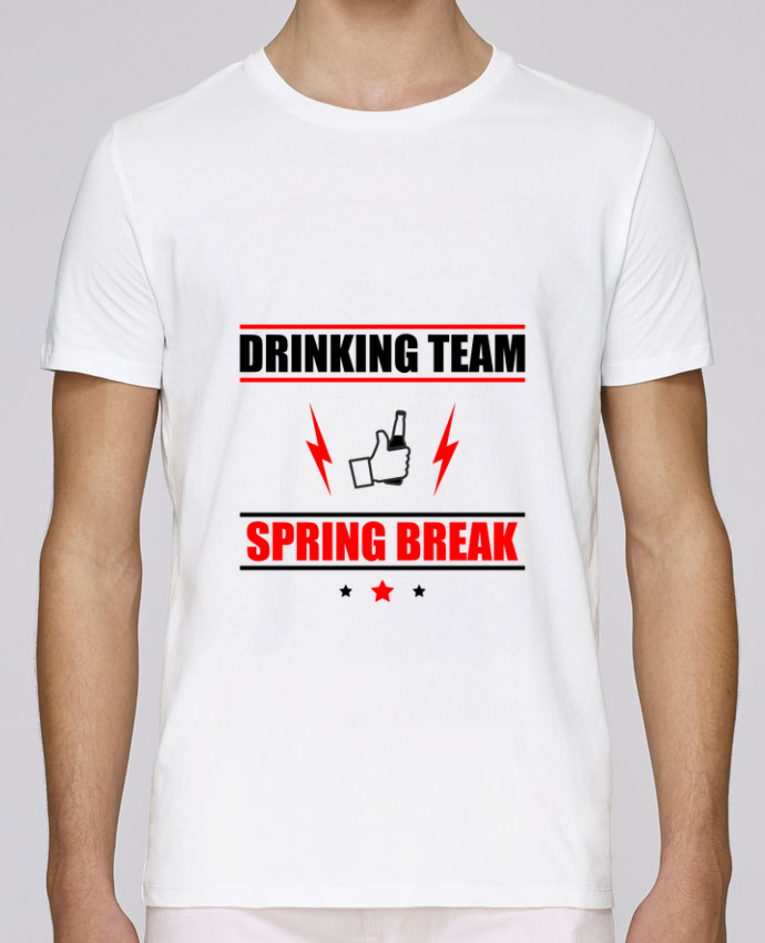 Camiseta Cuello Redondo Stanley Leads Drinking Team Spring Break por Benichan
