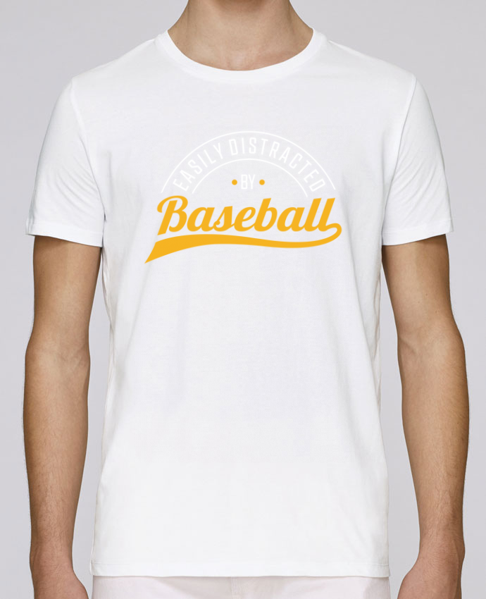 Camiseta Cuello Redondo Stanley Leads Distracted by Baseball por Original t-shirt