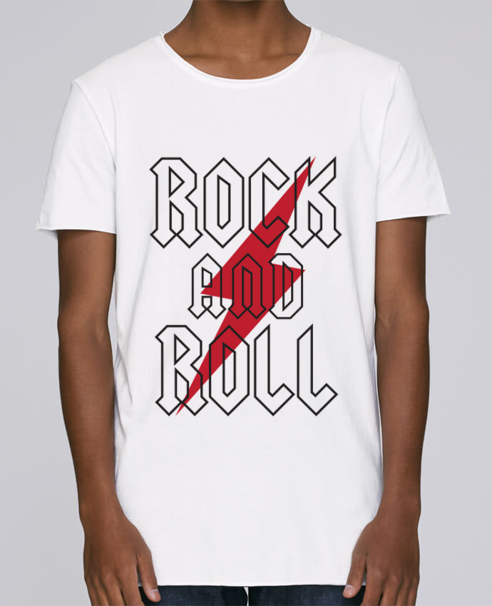 Camiseta Hombre Tallas Grandes Stanly Skates Rock And Roll por Freeyourshirt.com