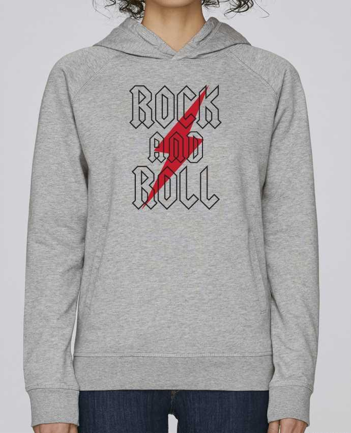 Sudadera Hombre Capucha Stanley Base Rock And Roll por Freeyourshirt.com