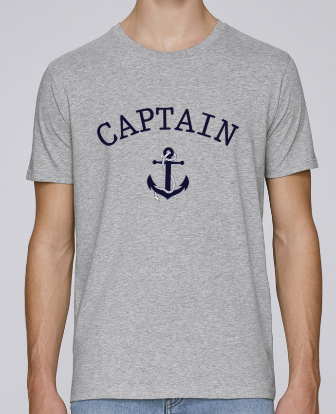 Camiseta Cuello Redondo Stanley Leads Capitain and first mate por tunetoo
