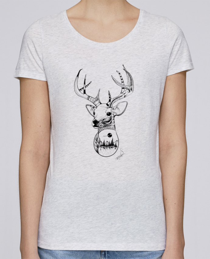 Camiseta Mujer Stellla Loves .American Wolf. por The Wild Light