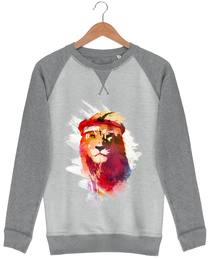 Sudadera French Terry Gym lion por robertfarkas