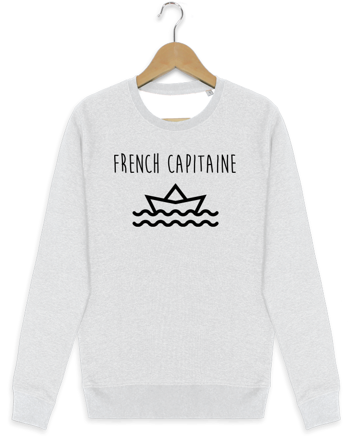 Sweat-shirt Stanley stella modèle seeks French capitaine por Ruuud