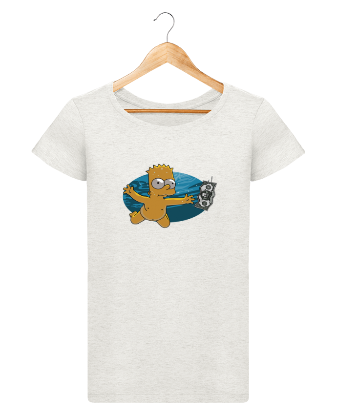 Camiseta Mujer Stellla Loves Bart Simpson por lisartistaya