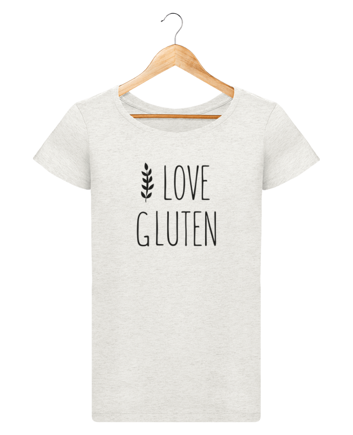 Camiseta Mujer Stellla Loves I love gluten by Ruuud por Ruuud