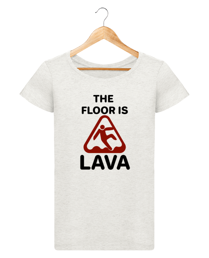 Camiseta Mujer Stellla Loves The floor is lava por tunetoo