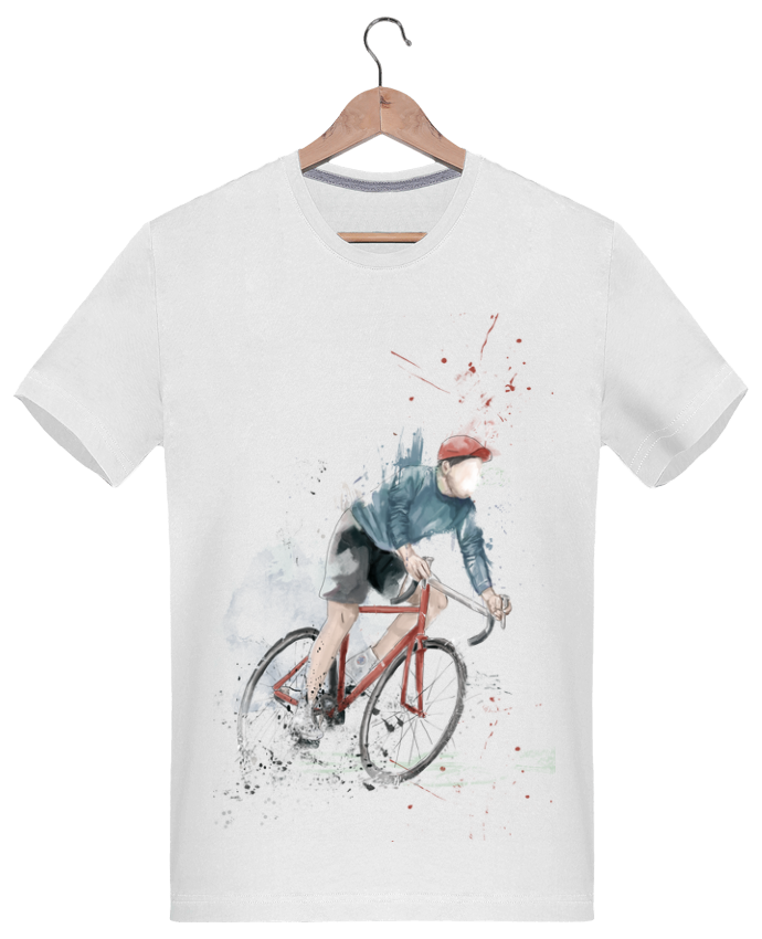 Camiseta Hombre 180g I want to Ride por Balàzs Solti