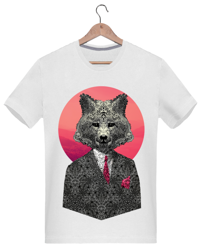 Camiseta Hombre 180g Very Important Fox por ali_gulec