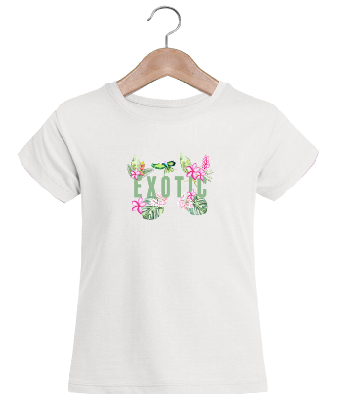 Camiseta Niña Stella Draws Exotic por Les Caprices de Filles