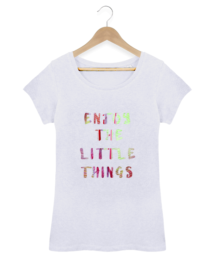 Camiseta Mujer Stellla Loves Enjoy the little things por Les Caprices de Filles