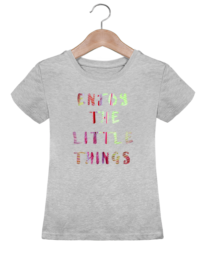 Camiseta Niña Stella Draws Enjoy the little things por Les Caprices de Filles
