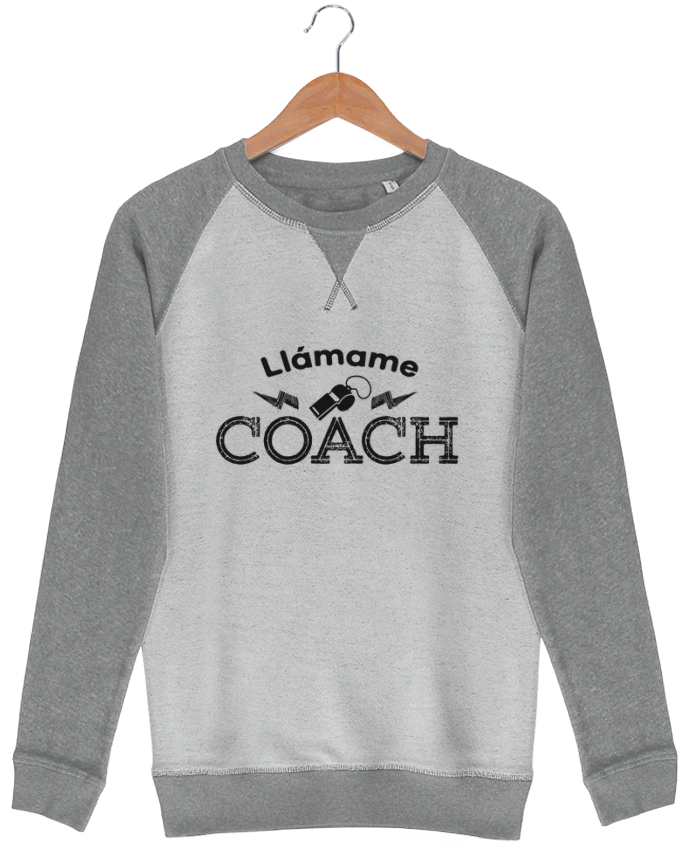 Sudadera French Terry Llámame Coach por tunetoo