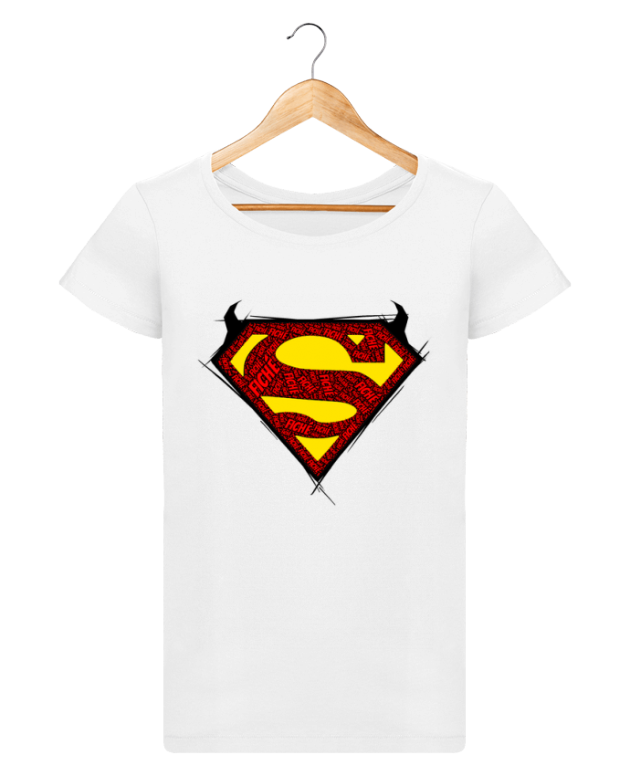 Camiseta Mujer Stellla Loves Super Fiché por Dontuch