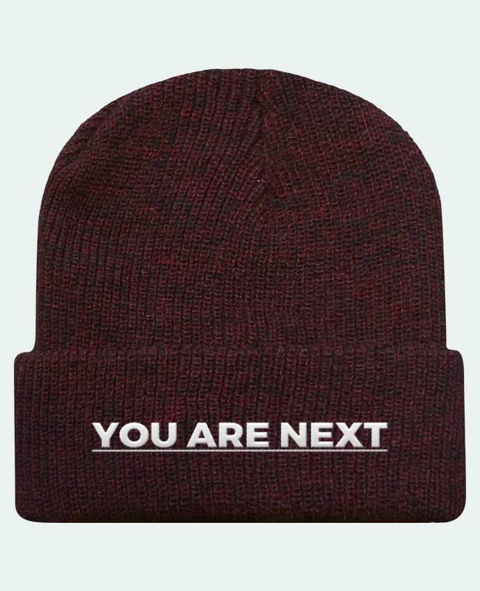 Gorro Beanie Heritage You are next por tunetoo