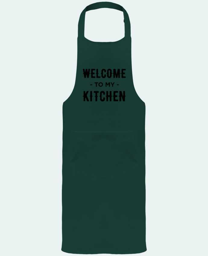 Delantal Jardinero o Somelier con Bolsillo  Welcome to my kitchen por tunetoo