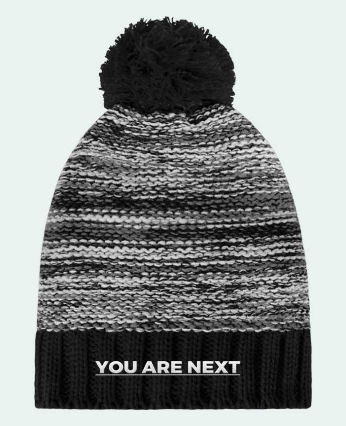 Gorro Pompón Slalom Boarder You are next por tunetoo