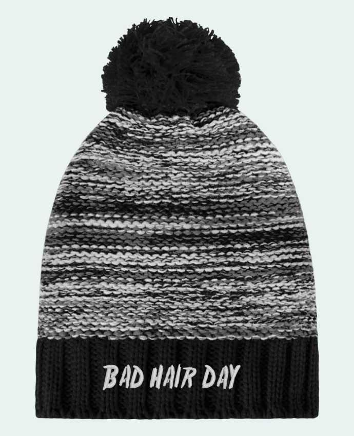 Gorro Pompón Slalom Boarder Bad hair day por tunetoo