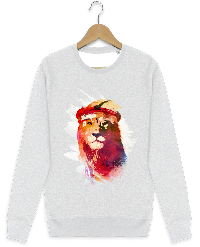 Sweat-shirt Stanley stella modèle seeks Gym lion por robertfarkas