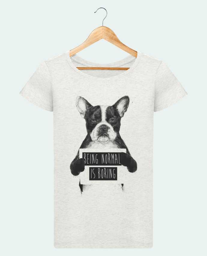 Camiseta Mujer Stellla Loves Being normal is boring por Balàzs Solti
