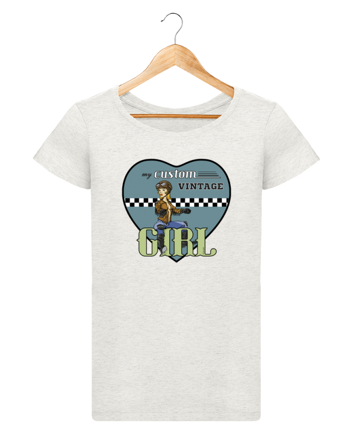 Camiseta Mujer Stellla Loves My custom vintage girl por BRUZEFH