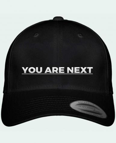 Casquette Flexfit 6 panneau You are next por tunetoo