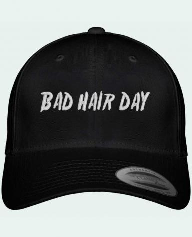 Casquette Flexfit 6 panneau Bad hair day por tunetoo