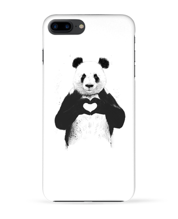 Carcasa 3D Iphone 7+ All you need is love por Balàzs Solti