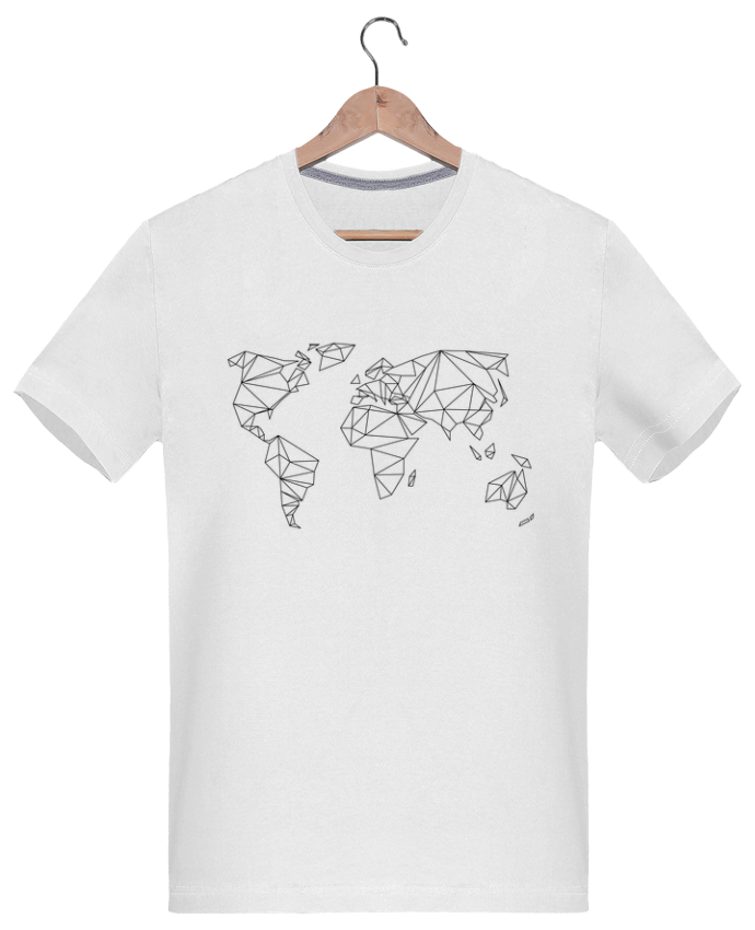 Camiseta Hombre 180g Geometrical World por na.hili