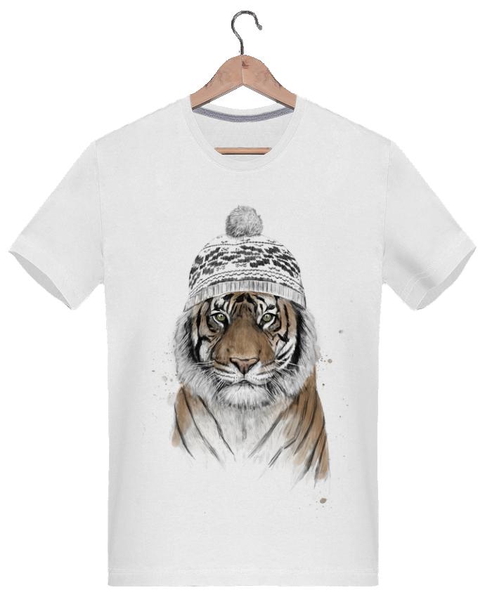 Camiseta Hombre 180g Siberian tiger - Balàzs Solti - Tunetoo Cute Siberian Tiger Shirt