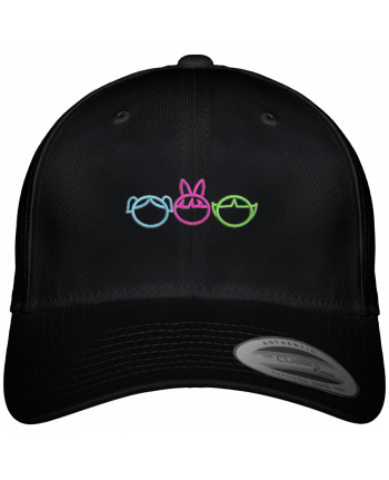 Gorra Panel 6 Flexfit Clásica Les Supers Nanas brodé por tunetoo