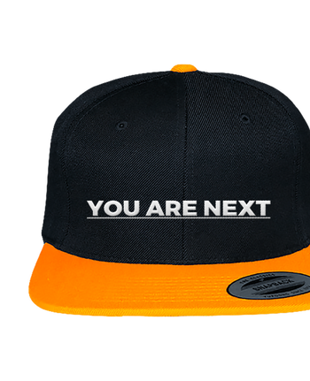Gorra Snapback Bicolor Varsity bicolore You are next por tunetoo