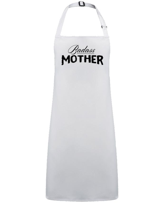 Delantal Sin Bolsillo Badass Mother por  tunetoo
