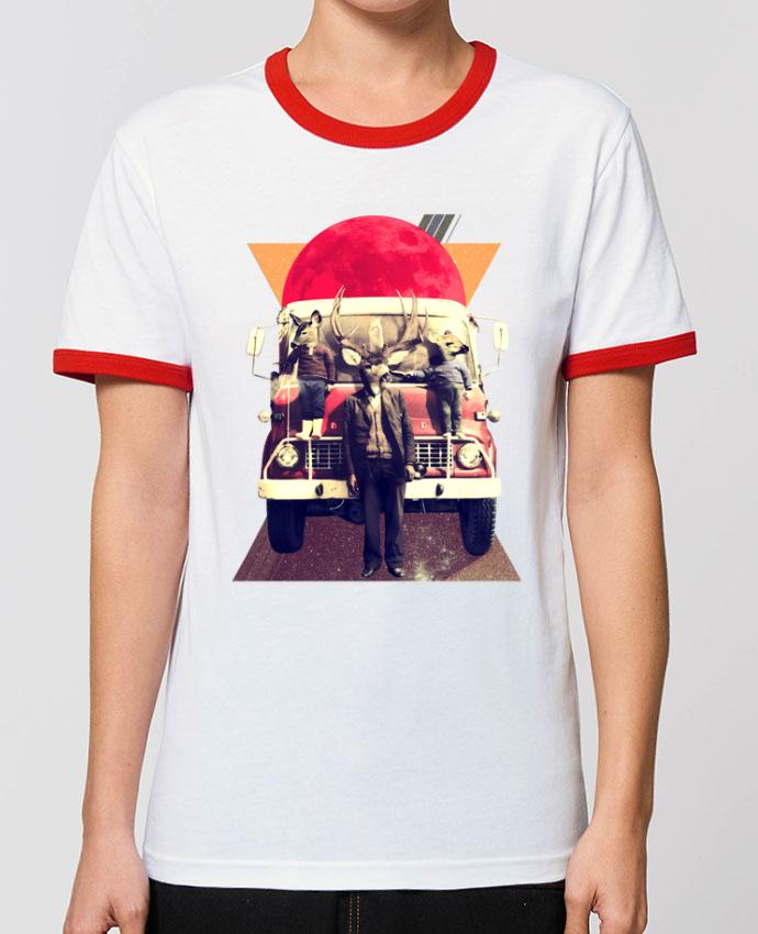 T-Shirt Contrasté Unisexe Stanley RINGER El camion porali_gulec
