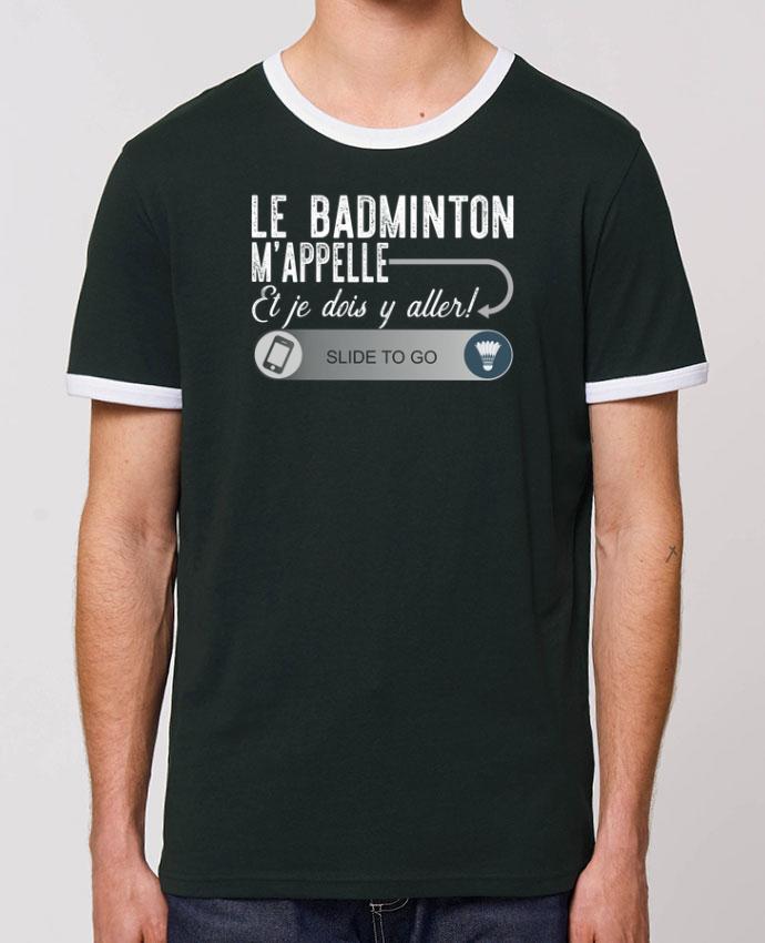 CAMISETA BORDES EN CONTRASTE UNISEX Stanley RINGER Badminton m'appelle porOriginal t-shirt