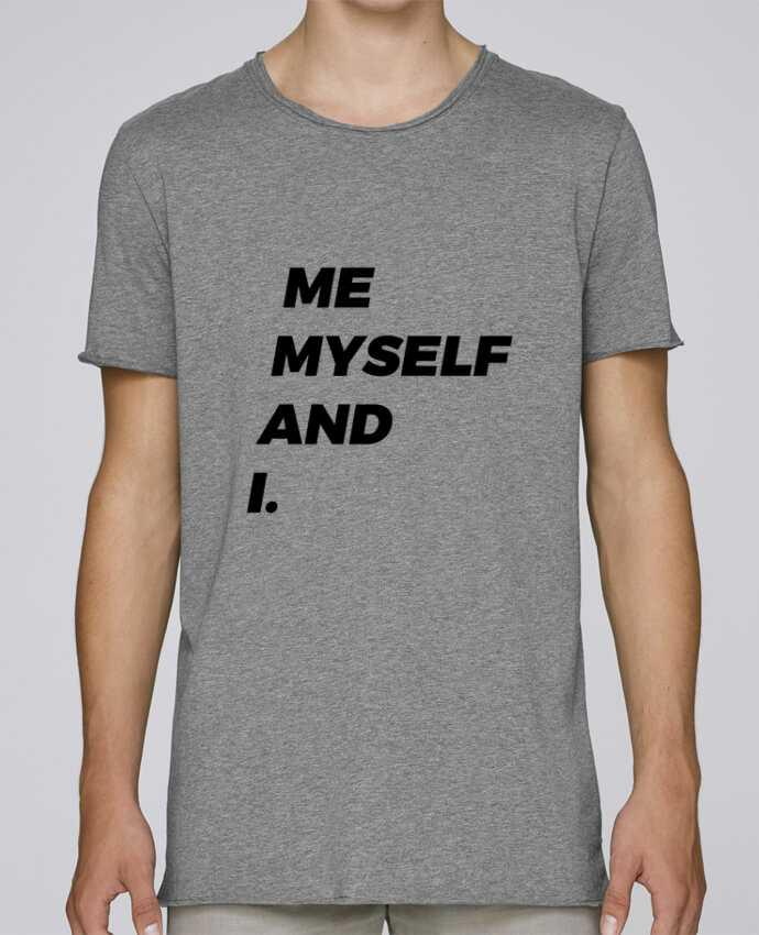 Camiseta Hombre Tallas Grandes Stanly Skates me myself and i. por tunetoo