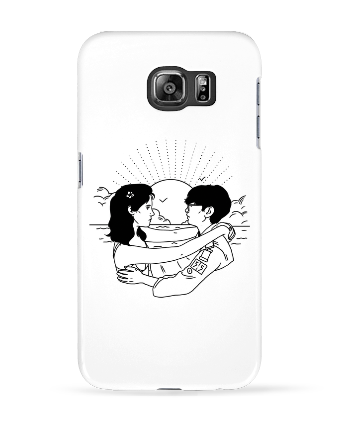 Carcasa Samsung Galaxy S6 Moonrise Kingdom - tattooanshort