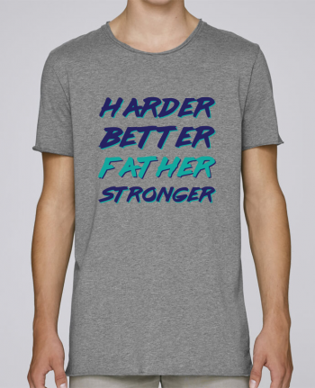 Camiseta Hombre Tallas Grandes Stanly Skates Harder Better Father Stronger por tunetoo