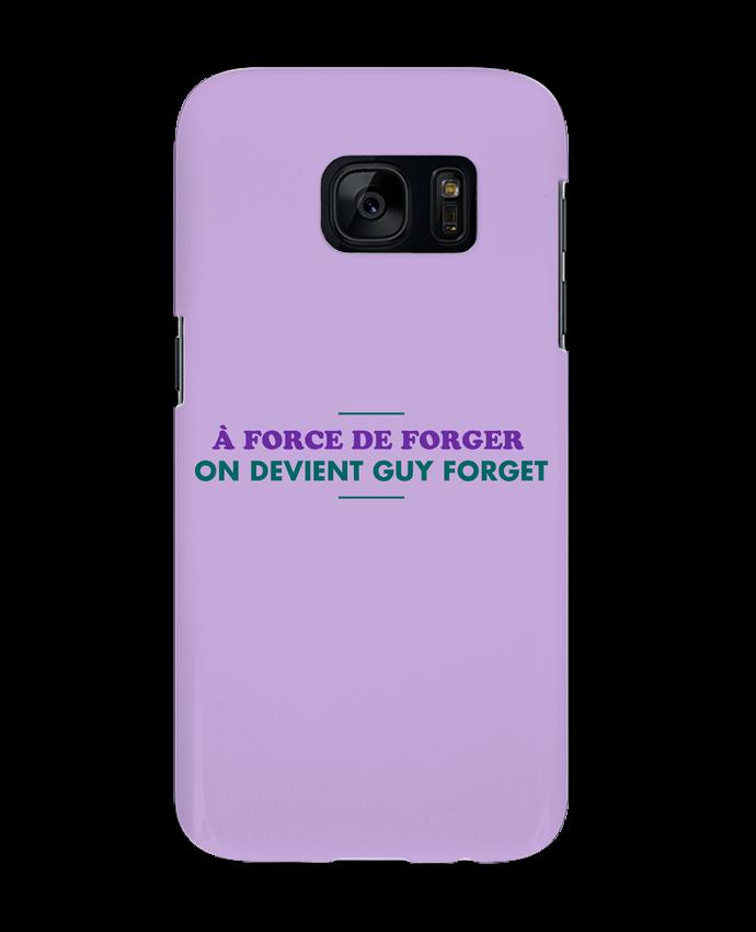 Carcasa Samsung Galaxy S7 A force de forger por tunetoo