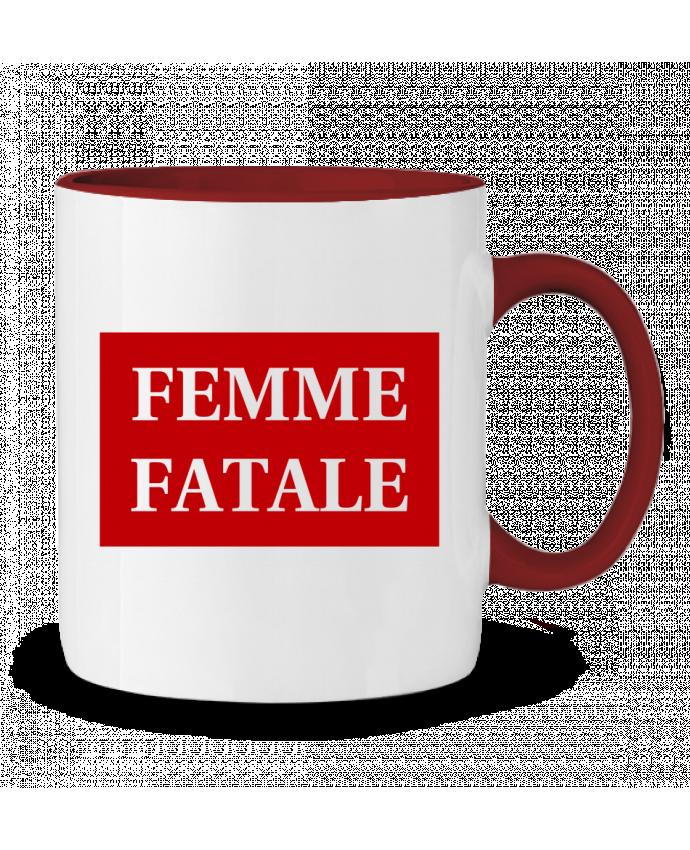 Taza Cerámica Bicolor Femme fatale tunetoo