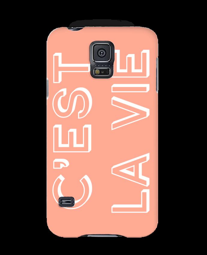 Carcasa Samsung Galaxy S5 C'est la vie por tunetoo