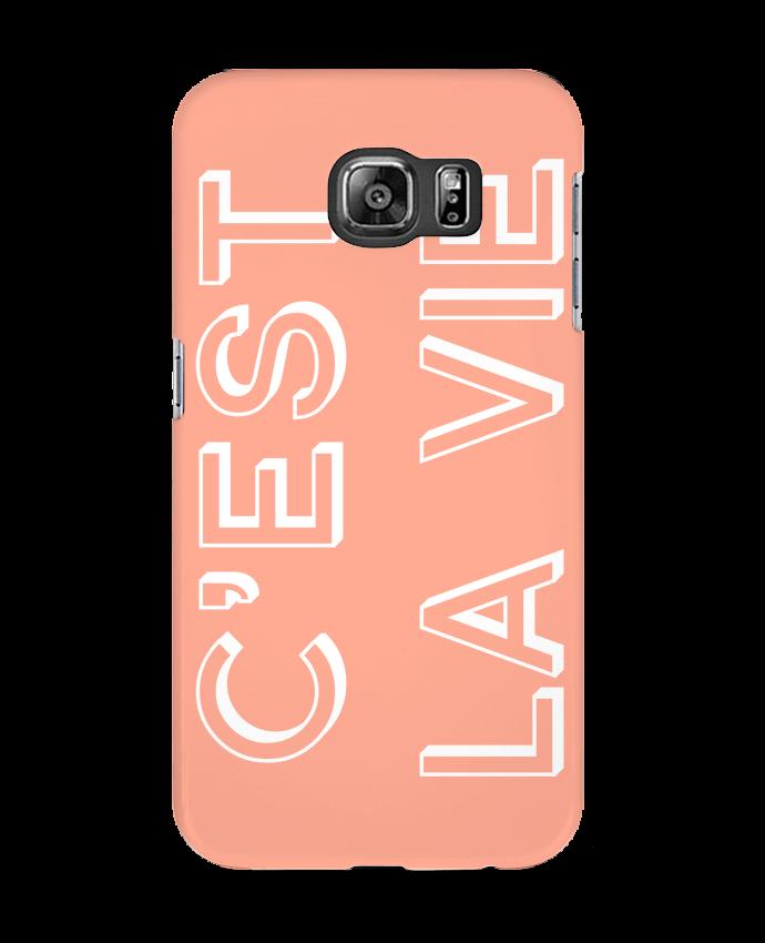 Carcasa Samsung Galaxy S6 C'est la vie - tunetoo