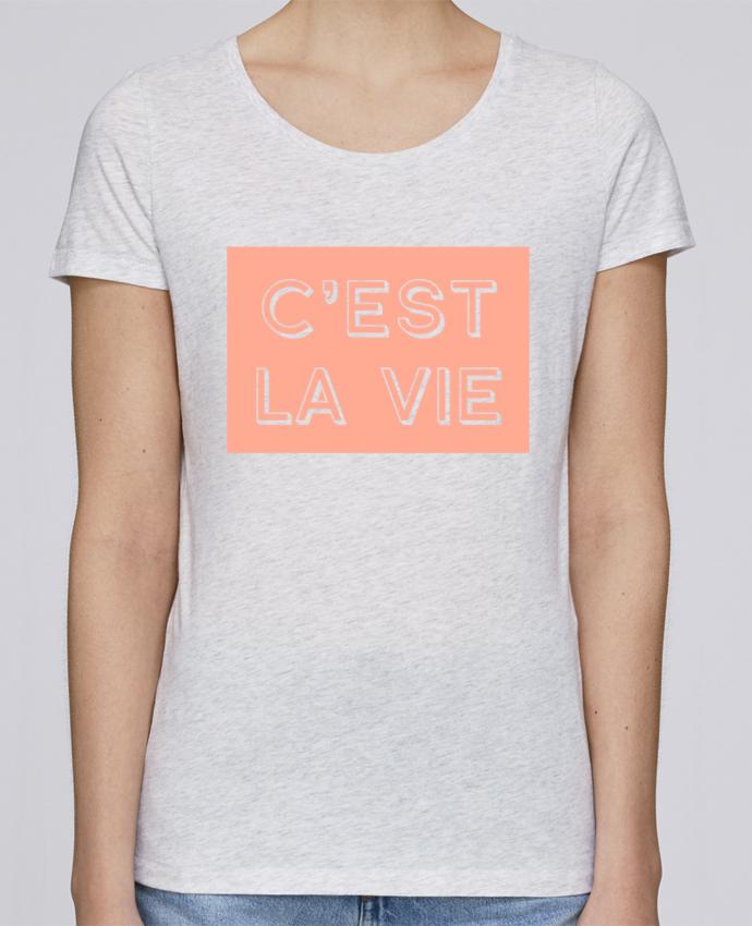 Camiseta Mujer Stellla Loves C'est la vie por tunetoo