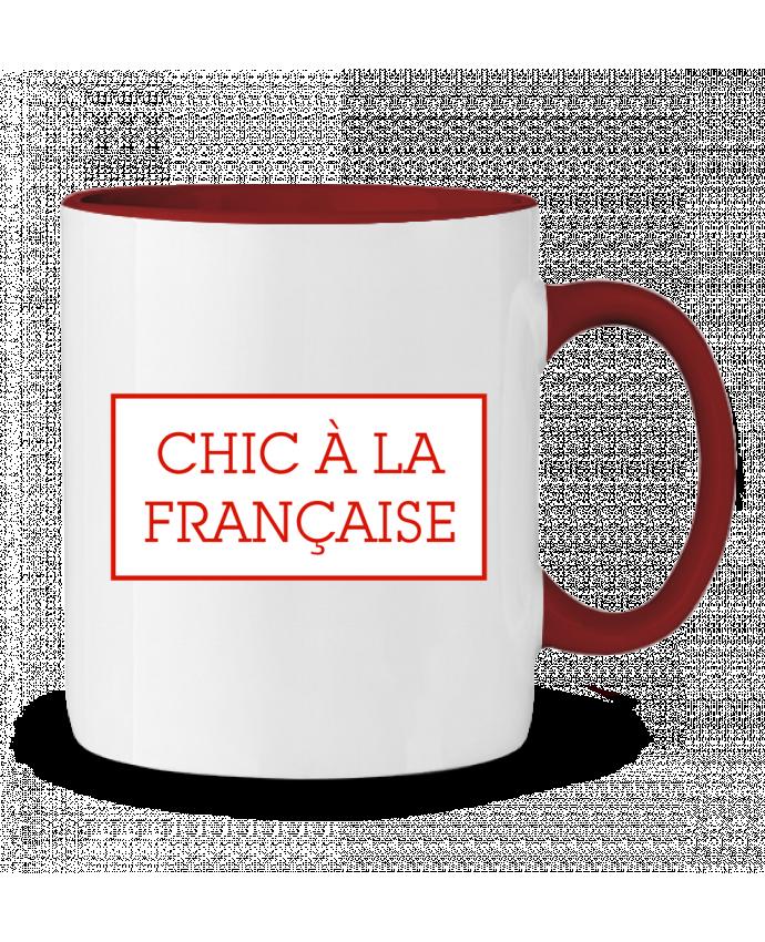 Taza Cerámica Bicolor Chic à la française tunetoo