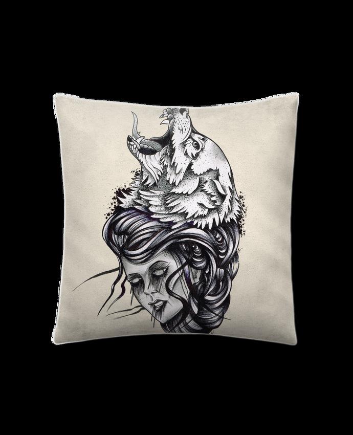 Cojín Piel de Melocotón 45 x 45 cm Femme & Loup por david